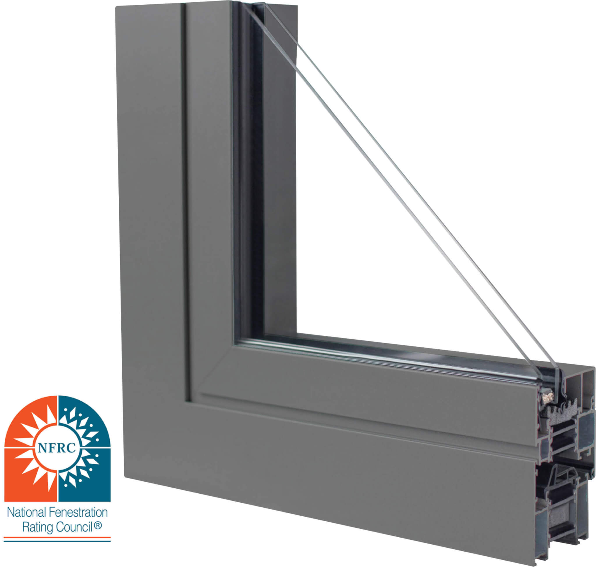aluminum window, aluminum triple pane window, european windows, european aluminum windows, black windows